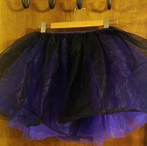 Dresses & Skirts - Purple and black tutu